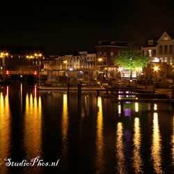 Night view Leiden