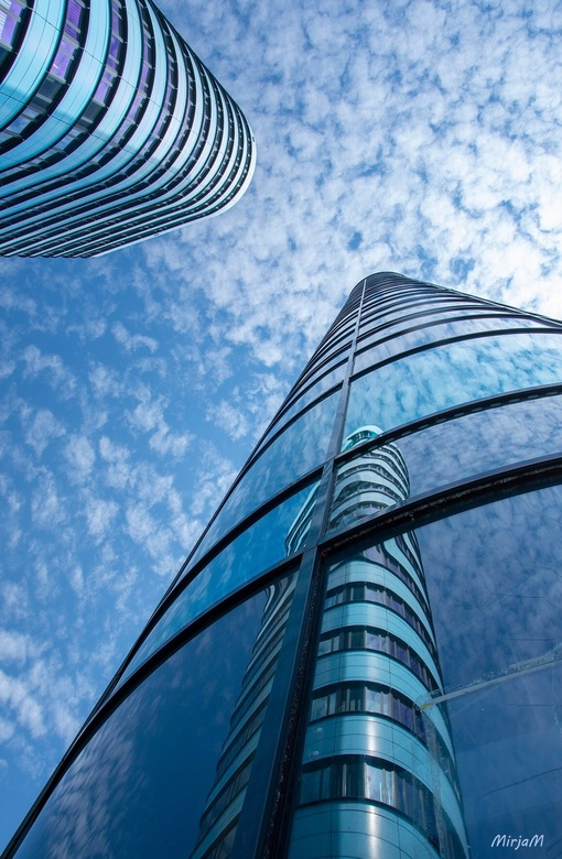 Twin towers Arnhem -