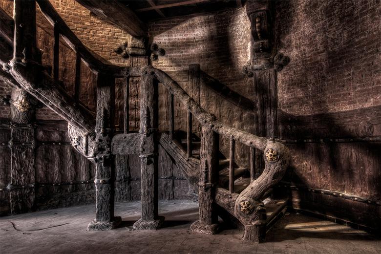 wooden stairway to heaven?
