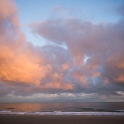 Opkomende zon Hoek van Holland