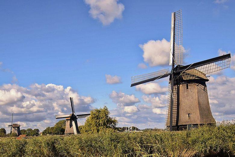 Molen - Deze molen foto is gemaakt vlakbij het molenmuseum te Schermerhorn.