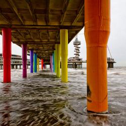 Pier in kleur