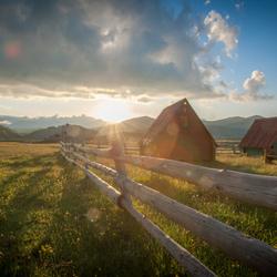 Sunset at Crna Gorao