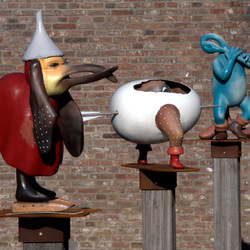 sculpturen in Dieze