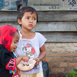 Kinderen in Indonesië