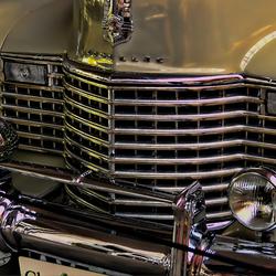 Voorkant Cadillac