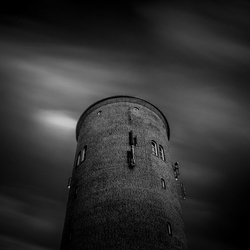 Tower in the lightspot