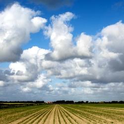Wolkenlucht en lijnenspel
