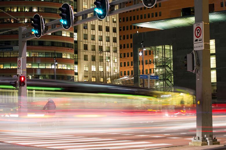 Kop van Zuid, Rotterdam - Nachtfotografie@De Kop van Zuid, Rotterdam