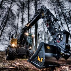 Excavator HDR