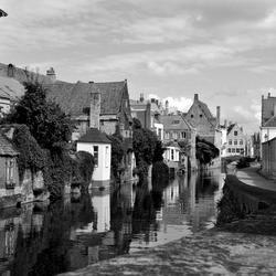 Brugge z/w