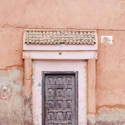 Oude deur in de medina
