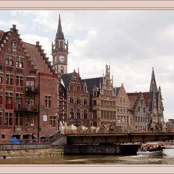 Stadsgezicht van Gent