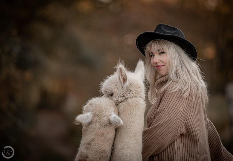 Alpaca Liefde - Liefde tussen mens en dier. <br />