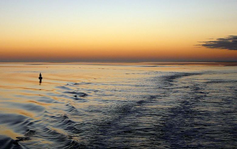 Op de boot van Vlieland - Op de 2e dag van dit jaar voer ik weer van Vlieland naar Harlingen op weg naar huis. Morgen weer een weekendje Vlieland, and