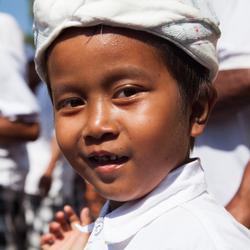 "Een ""jonge"" Balinese lach"