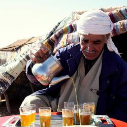Marokkaanse lunch in Sahara