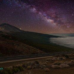 El Teide en de Melkweg