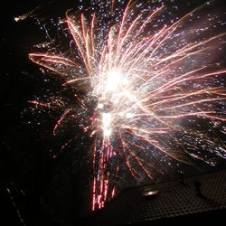 Vuurwerk Nieuwjaarsdag