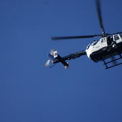 helikopter van de politie