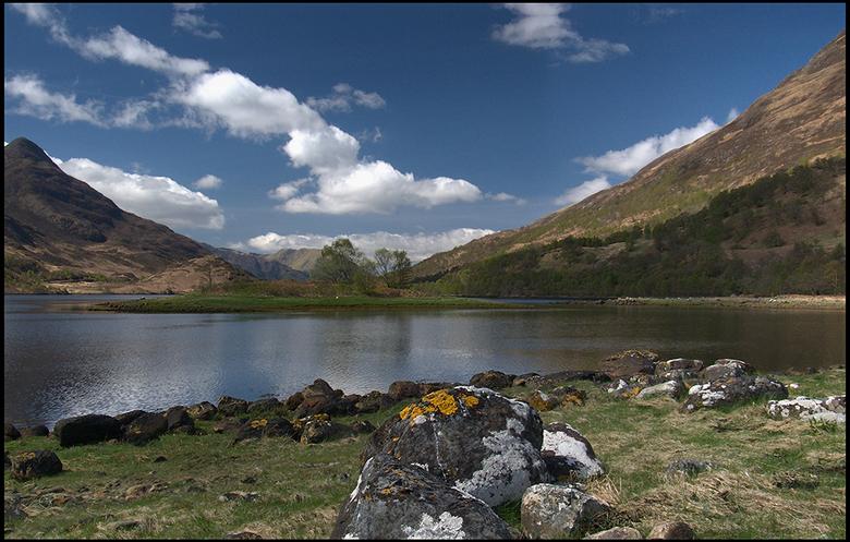 Highlands 15 - Een zonnige periode van een uur.