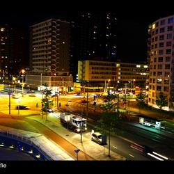 Verkeersplein Schiemdamsedijk Rotterdam