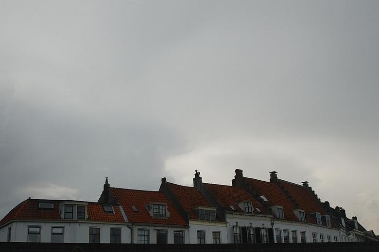 daken beschermen tegen de regen -