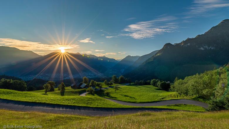 Zon opkomst Oostenrijk  - Zonopkomst Oostenrijk