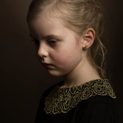 Portret van Evy
