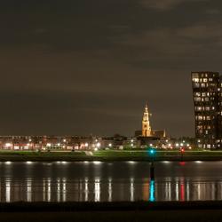 Nachtelijk kijkje op Maassluis