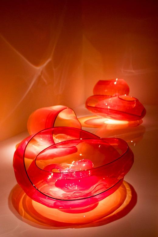 Glas, Dale Chihuly - Tentoonstelling van glaskunstenaar Dale Chihuly in het Groninger Museum