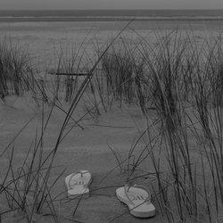Flip flops strand Schiermonnikoog