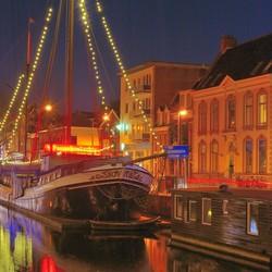 Avondfotografie in Groningen stad.