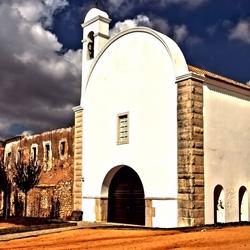 Kerkje in Loulé Portugal
