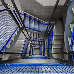 Industrieel blauw