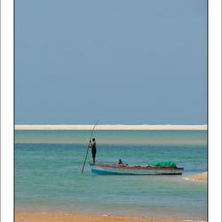 Visser in Mozambique