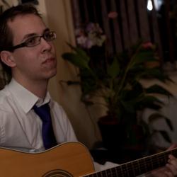 Ik met gitaar