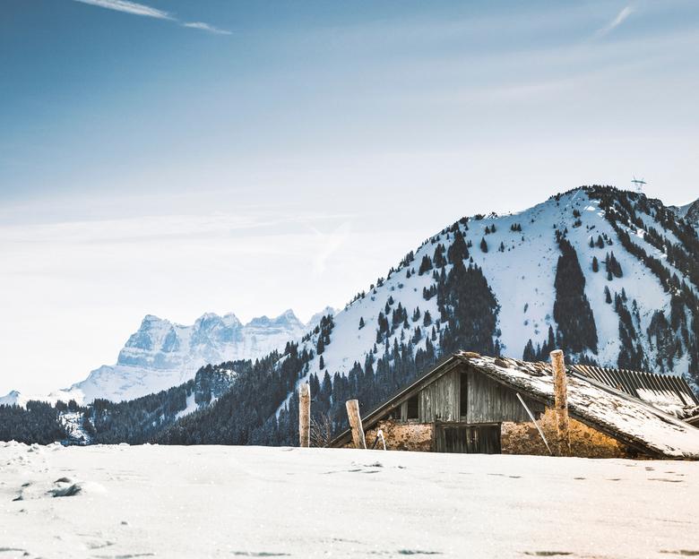 Frankrijk - Alpen - La Chapelle d'Abondance - Zonder statief<br /> 70-200 mm L f2.8 II<br /> <br /> 70 mm<br /> F/11<br /> 1/320