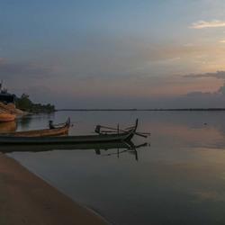 boten op Mekong