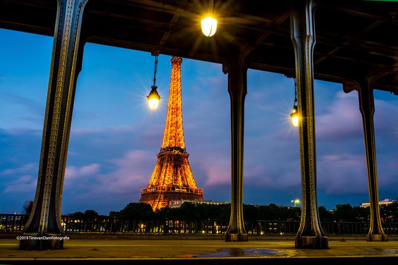 Paris Bir Hakeim - Mijn derde foto van de Eifeltoren, blijft fascinerend in Parijs te fotograferen.