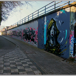 Graffity in onze stad.