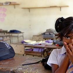 Schoolkind Sri Lanka