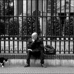 Den Haag Spui straat scene