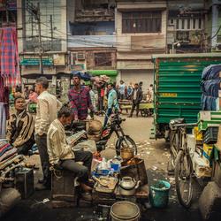 Markt New Delhi India