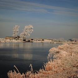 Eilandspolder winter eind 2007 2