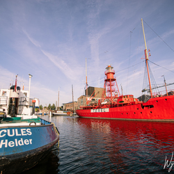 Lightship no. 10, Texel - Lighthouses in the Netherlands