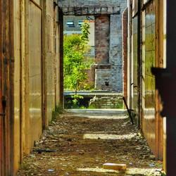 Hallway into destruction