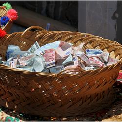 Geld voor de kerk