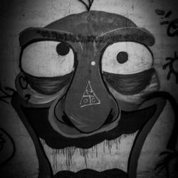 Graffiti Gek Gezicht