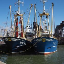 vissersboten Den Oever